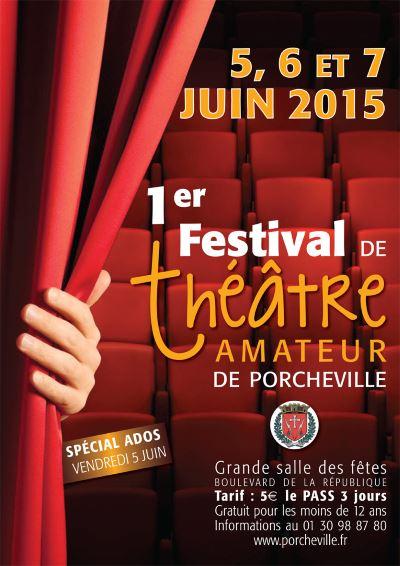 1er Festival de théâtre amateur de Porcheville
