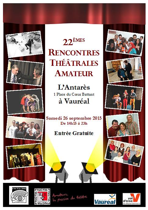 22e Rencontres Théâtrales Amateur de Vauréal