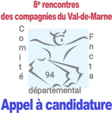 Inscrivez-vous aux 8e rencontres des compagnies du Val