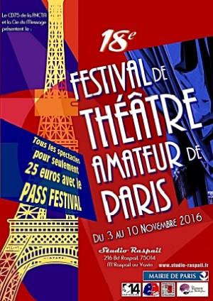 Festival de Paris 2016 du 3 au 10 novembre