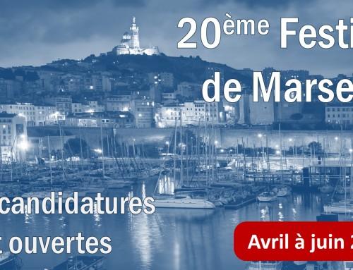 Festival de Marseille 2018 – Candidatures ouvertes