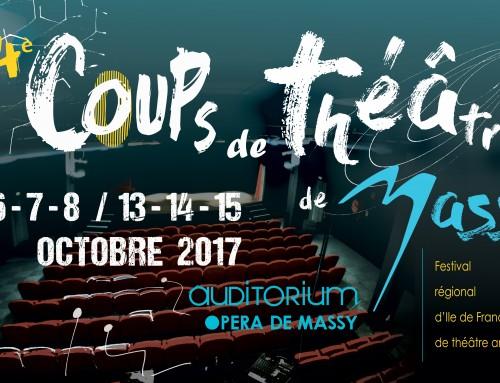 Au programme des 14e Coups de théâtre de Massy