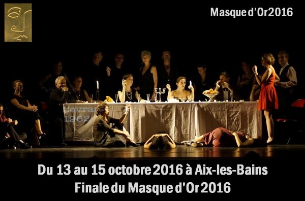 Finale du 13e Masque d'Or - du 13 au 15 octobre 2016
