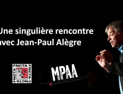 Une singulière rencontre avec Jean-Paul Alègre