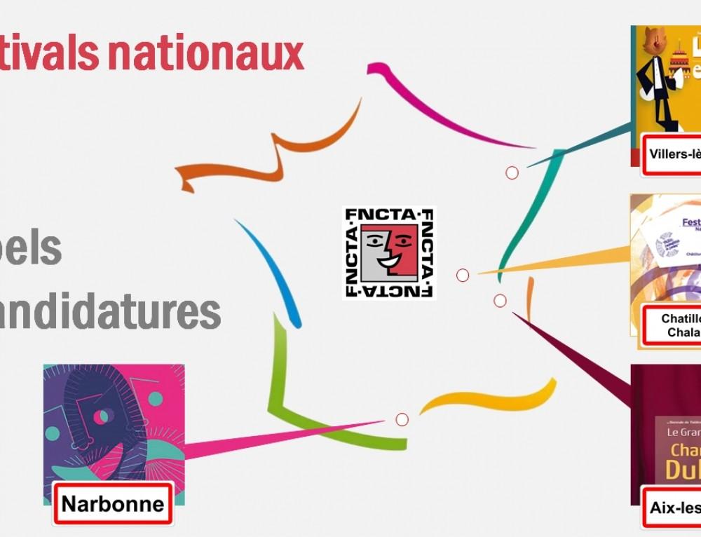 Festivals nationaux 2018 – Appels à candidatures