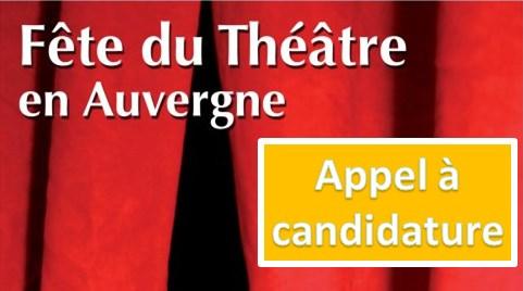 Fête du Théâtre en Auvergne 2016