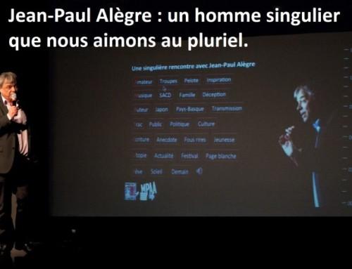 Rencontre : Jean-Paul Alègre, un homme singulier aimé au pluriel