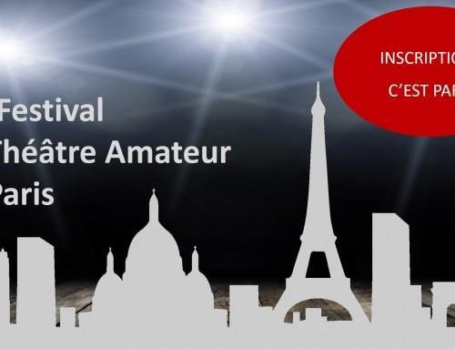 21ème Festival de Paris : Les inscriptions, c'est parti