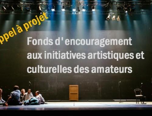 Fonds d'encouragement aux initiatives artistiques et culturelles des amateurs 2019