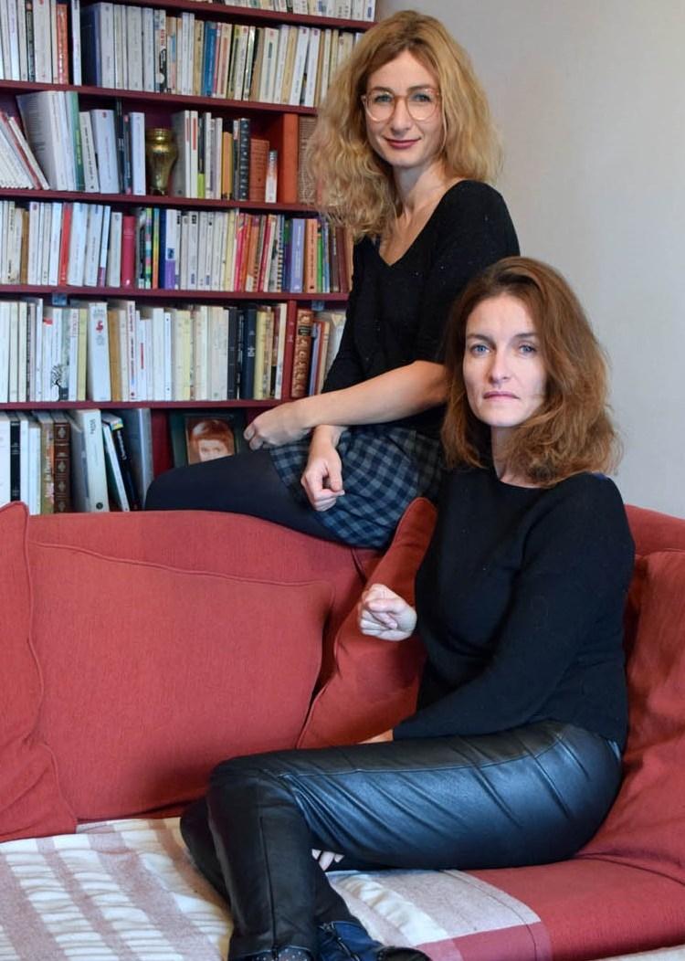 Léonore Confino et Catherine Schaub