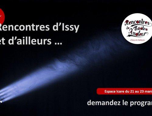 12e rencontres d'Issy & d'ailleurs : demandez le programme